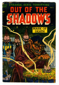 Golden Age (1938-1955):Horror, Out Of The Shadows #8 (Standard, 1953) Condition: GD/VG....