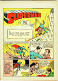 Golden Age (1938-1955):Superhero, Superman #1 (DC, 1939) Incomplete Copy With Cover Reproduction....