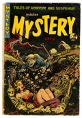 Golden Age (1938-1955):Horror, Mister Mystery #7 (Aragon, 1952) Condition: GD+....