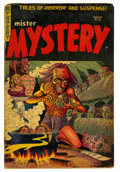 Golden Age (1938-1955):Horror, Mister Mystery #18 (Aragon, 1954) Condition: GD....