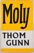 Books:First Editions, Thom Gunn. Moly. London: Faber and Faber, [1971]. Firstedition, first printing. Octavo. Publisher's binding and dus...