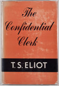 Books:First Editions, T. S. Eliot. The Confidential Clerk. New York: Harcourt,Brace, [1954]. First American edition, first printing. ...