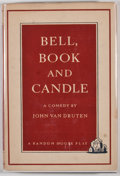 Books:First Editions, John Van Druten. Bell, Book and Candle. New York: RandomHouse, [1951]. First edition, first printing. Octavo. Publi...