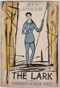 Books:First Editions, Jean Anouilh. The Lark. London: Methuen, [1955]. Firstedition, first printing. Octavo. Publisher's binding and dust...