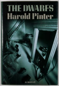 Books:First Editions, Harold Pinter. The Dwarfs. New York: Grove Weidenfeld,[1990]. First American edition, first printing. Octavo. Publi...