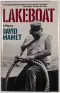 Books:First Editions, David Mamet. Lakeboat. New York: Grove Press, [1981]. Firstedition, first printing. Octavo. Publisher's binding and...