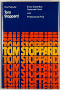 Books:First Editions, Tom Stoppard. Every Good Boy Deserves Favor and ProfessionalFoul. New York: Grove Press, [1978]. First edition,...