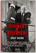 Books:First Editions, Abby Mann. Judgment at Nuremberg. London: Cassell, [1961].First edition, first printing. Octavo. Publisher's bindin...