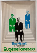 Books:First Editions, Eugene Ionesco. The Hermit. New York: Viking Press, [1974].First American edition, first printing. Octavo. Publishe...