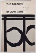 Books:First Editions, Jean Genet. The Balcony. New York: Grove Press, [1958].First American edition, first printing. Octavo. Publisher's ...