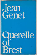 Books:First Editions, Jean Genet. Querelle of Brest. [London]: Anthony Blond,[1966]. First British edition, first printing. Octavo. P...