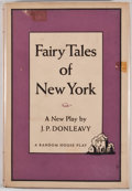 Books:First Editions, J. P. Donleavy. Fairy Tales of New York. New York: RandomHouse, [1961]. First edition, first printing. Octavo. ...