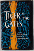 Books:First Editions, Jean Giraudoux. Tiger at the Gates. New York: OxfordUniversity Press, [1955]. First edition, first printing. Octavo...