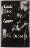 Books:First Editions, John Osborne. Look Back in Anger. London: Faber and Faber,[1957]. First edition, first printing. Octavo. Publis...