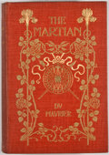 Books:First Editions, George du Maurier. The Martian. New York: Harper &Brothers, 1897. First American edition. Octavo. Publisher'sbindi...