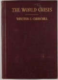 Books:First Editions, Winston S. Churchill. The World Crisis 1915. New York:Charles Scribner's Sons, 1923. First American edition. Octavo...