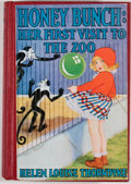 Books:Children's Books, Helen Louise Thorndyke. Honey Bunch: Her First Visit to theZoo. New York: Grosset & Dunlap, [1932]. Octavo. Publish...