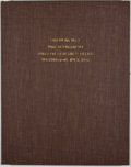 Books:First Editions, [George A. Otis]. A Report on Amputations at the Hip-Joint inMilitary Surgery. Washington: Government Printing ...
