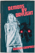 Books:First Editions, Ramsey Campbell. Demons by Daylight. Sauk City: ArkhamHouse, 1973. First edition, first printing. Octavo. Publisher...