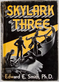 Books:First Editions, Edward E. Smith. Skylark Three. Reading: Fantasy Press,1948. First edition, first printing. Octavo. Publisher's...