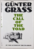Books:First Editions, Gunter Grass. The Call of the Toad. New York: Harcourt BraceJovanovich, [1992]. First edition, first printing. ...