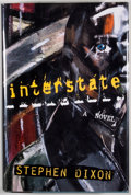Books:Signed Editions, Stephen Dixon. SIGNED. Interstate. New York: Henry Holt, [1995]. First edition, first printing. Octavo. Publisher's ...