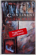 Books:Signed Editions, Jim Crace. Three SIGNED Books, including: Continent. London: Heinemann, [1986]. First printing. Signed by Crace ... (Total: 3 Items)
