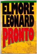 Books:First Editions, Elmore Leonard. Pronto. [New York]: Delacorte Press, [1993].First edition, first printing. Publisher's original bin...