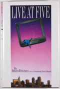 Books:Signed Editions, David Haynes. SIGNED. Live at Five. [Minneapolis]: Milkweed Editions, [1996]. First edition, first printing. Signe...