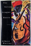 Books:Signed Editions, Albert Murray. INSCRIBED. The Seven League Boots. New York: Pantheon Books, [1995]. Inscribed, signed and dated by...