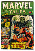 Golden Age (1938-1955):Horror, Marvel Tales #96 (Atlas, 1950) Condition: GD/VG....