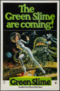 """Movie Posters:Science Fiction, The Green Slime (MGM, 1969). One Sheet (27"""" X 41""""). ScienceFiction.. ..."""