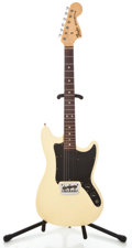 Musical Instruments:Electric Guitars, 1977 Fender Musicmaster Olympic White Solid Body Electric Guitar#S704686...