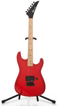 Musical Instruments:Electric Guitars, Recent Charvel Model One Red Solid Body Electric Guitar #290516...