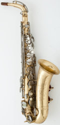Musical Instruments:Horns & Wind Instruments, 1960 Conn Shooting Star Lacquer Alto Saxophone #792870...