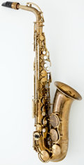 Musical Instruments:Horns & Wind Instruments, 1940's King Zephyr Brass Tenor Saxophone #264380...