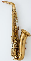 Musical Instruments:Horns & Wind Instruments, 1969 Conn Naked Lady Brass Alto Saxophone #M256622...