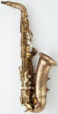 Musical Instruments:Horns & Wind Instruments, 1953 Conn Make Lady Lacquer Alto Saxophone #342191...