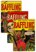 Golden Age (1938-1955):Horror, Baffling Mysteries Group (Ace, 1953-55) Condition: Average VG....(Total: 9 Comic Books)