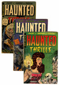 Golden Age (1938-1955):Horror, Haunted Thrills Group (Farrell, 1952-54).... (Total: 8 Comic Books)