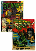 Golden Age (1938-1955):Horror, Beware #10 and 11 Group (Youthful Magazines, 1953).... (Total: 2Comic Books)