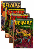 Golden Age (1938-1955):Horror, Beware Group (Trojan, 1953).... (Total: 4 Comic Books)