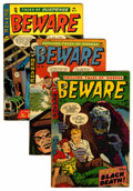 Golden Age (1938-1955):Horror, Beware Group (Trojan, 1954-55).... (Total: 5 Comic Books)