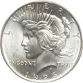 Peace Dollars, 1926-D $1 MS66+ PCGS. CAC....