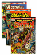 Bronze Age (1970-1979):Horror, Marvel Bronze Age Horror Short Box Group (Marvel, 1970s) Condition:Average VF....