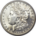 Proof Morgan Dollars, 1904 $1 PR64+ PCGS. CAC....
