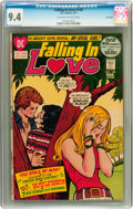 Bronze Age (1970-1979):Romance, Falling in Love #130 Savannah pedigree (DC, 1972) CGC NM 9.4Off-white to white pages....