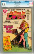 Bronze Age (1970-1979):Romance, Falling in Love #128 Savannah pedigree (DC, 1972) CGC NM+ 9.6 Creamto off-white pages....