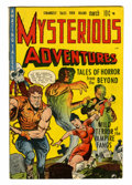 Golden Age (1938-1955):Horror, Mysterious Adventures #1 (Story Comics, 1951) Condition: FN-....