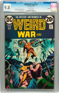Bronze Age (1970-1979):Horror, Weird War Tales #16 Savannah pedigree (DC, 1973) CGC NM/MT 9.8Off-white pages....